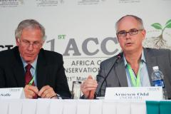 Speakers at the IACCA during a Panel discussion