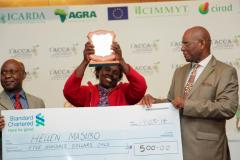 The Conservation Agriculture Award Ceremony  CCARDESA awards one of the categories at the IACCA 2014