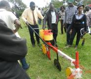 Kenya, Kitale Field day session on Conservation Agrirculture